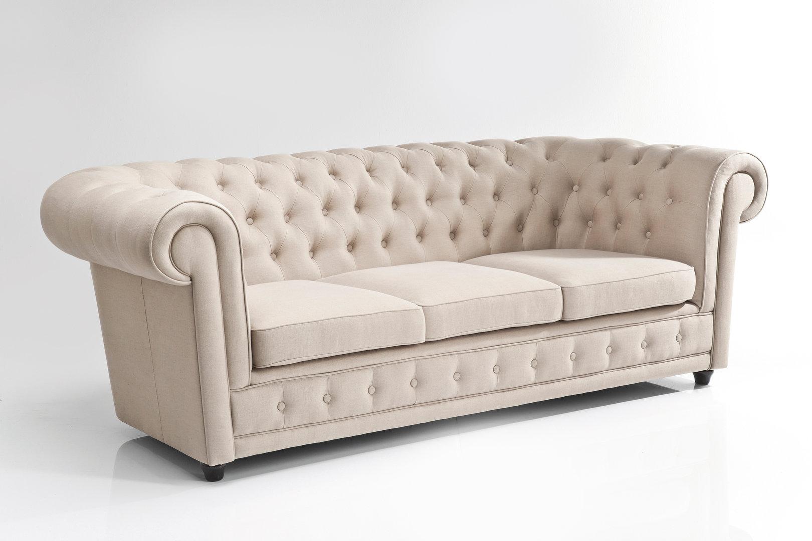 Sof chester estilo cl sico ingl s diferentes tapicerias for Sofa chester oferta