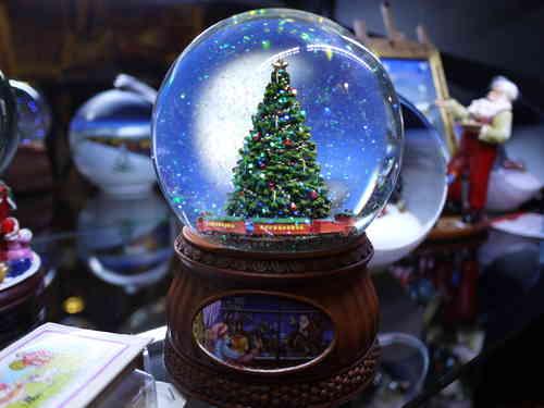 Bolas de nieve - Bola nieve navidad ...