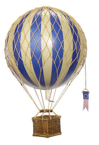 Globo Azul Floating the skies, Blue