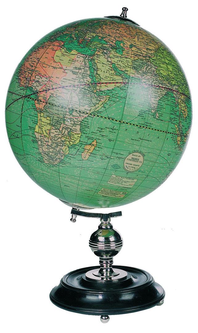 Mapa Mundi Weber Costello Globe www.ambardecoracion.com Authentic ...