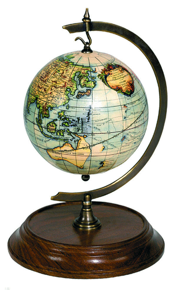 globo con soporte de sobremesa desk stand for globe authentic models. Black Bedroom Furniture Sets. Home Design Ideas
