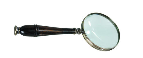 Lupa Magnifying Glass, Bronzed