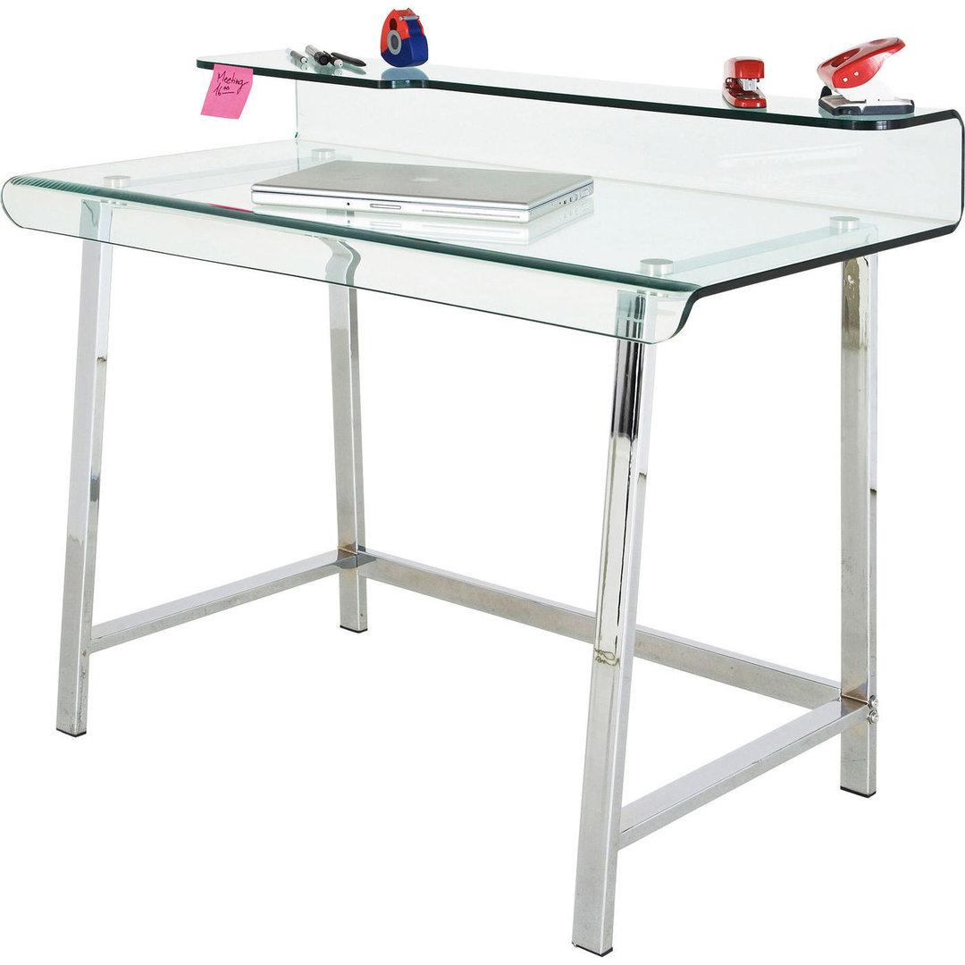 Escritorio cristal - Mesas escritorio de cristal ...