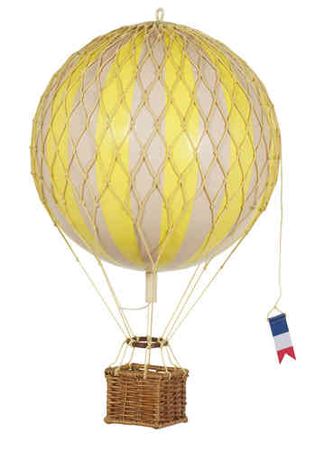 Globo Amarillo Floating the skies, True Yellow