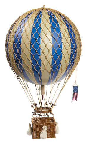 Globo Azul Royal Aero, Blue