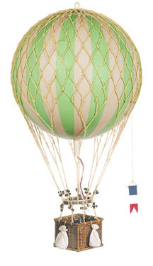 Globo Verde Royal Aero, True Green