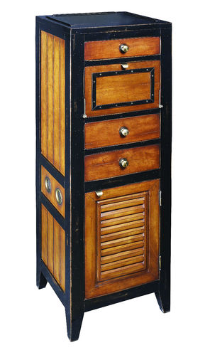 Mueble Cape Cod Locker, Black